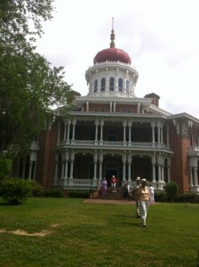 Longwood, an unfinished mansion in Natchez that's the largest octagonal house in America. Photo by Clark Norton.